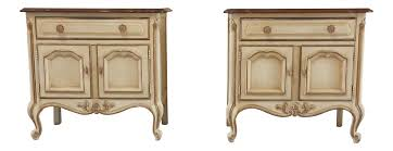 French Country Nightstand - bedroom furniture birch assembled bookshelf dark wood large french
