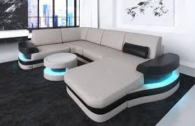Beige Sectional Sofas Modern Leather Sofa Ta U Shape