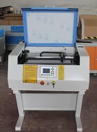 Card Making Equipment - 40w credit card making machine co2 glass tube mini laser cutting