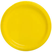 neon yellow paper plates neon yellow party supplies