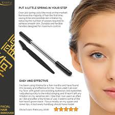 amazon com hair remover for women eyebrow razor bundle