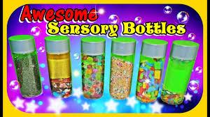 diy sensory bottles for kids youtube
