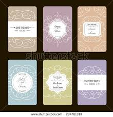 save the date birthday cards vector greeting cards collection ideal save stock vector 294781298