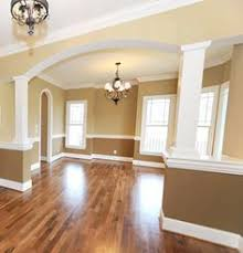 home paint interior living room paint divider ideas two toned two tone walls pic 17