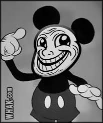 Dancing Troll Meme - troll face gif animations for trolling crazy mickey mouse troll