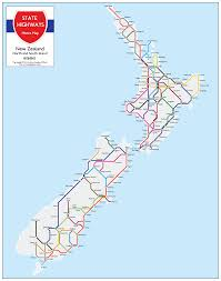 Metro Property Maps by New Zealand State Highway Metro Map Prints For Sale