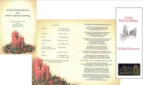 Elegant Funeral Programs 10 Best Images Of Elegant Memorial Service Program Template