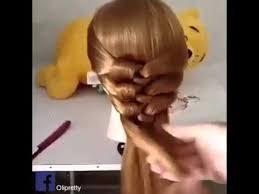 tutorial kepang rambut frozen cara kepang rambut youtube