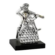 fiddler on the roof silver plated ornament jjudaica