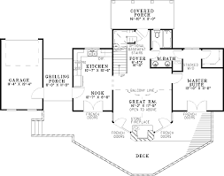 glorious vacation house plan 59204nd architectural designs