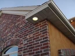 outdoor led can lights living room awesome ideas design installing modern soffit lighting