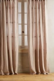 Striped Linen Curtains Striped Linen Curtain Anthropologie H O M E G A R D E N