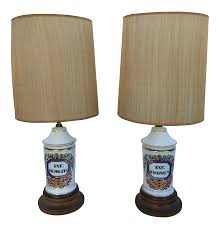 Apothecary Table Lamp by Antique Apothecary Jar Lamps A Pair Chairish