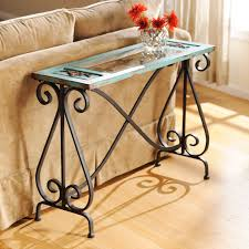 Kirklands Console Table Blue Veracruz Console Table Entry Ways Awesome And Furniture