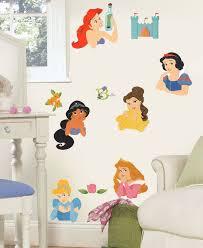 disney princess stickers posed princesses wall decals obedding com disney princess faces wall stickers