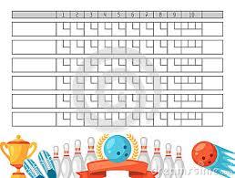 Ten Pin Bowling Sheet Template Bowling Sheet Template 9 Free Sle Bowling Sheet