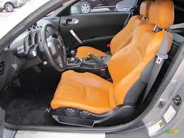 nissan 350z how many seats video clip of nissan 350z burnt orange piazza orange backed