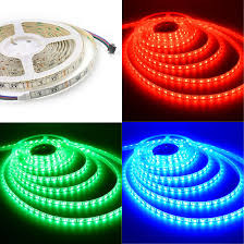 led ribbon rgb led light dimmable ribbon light multi color