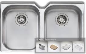 Oliveri WAUPACK Diaz Double Bowl Undermount Sink Pack - Oliveri undermount kitchen sinks