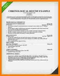 Chronological Resume Format Example by 7 Chronological Resume Format Inventory Count Sheet