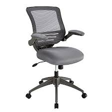 Realspace Office Furniture by Realspace Calusa Mesh Mid Back Chair Silver By Office Depot