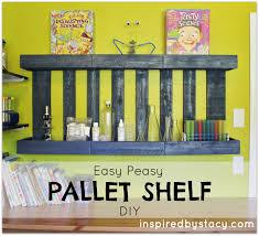 easy peasy pallet shelf diy u2013 inspired by stacy