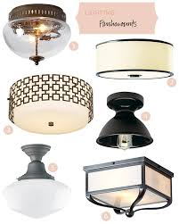 Kitchen Lighting Fixtures For Low Ceilings Great Attractive Light Fixtures For Low Ceilings Pertaining To