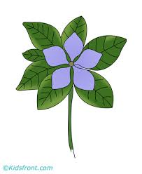 periwinkle coloring pages kids color print