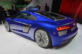 Audi R8 Blue - audi r8 v10 plus and e tron coupe