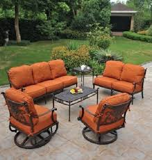 Discount Cast Aluminum Patio Furniture by Lovable Patio Seating Sets Grand Tuscany 6 Piece Hanamint Luxury