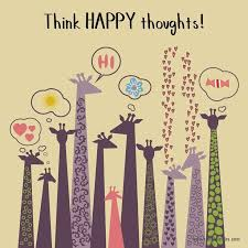 think happy thoughts the grass skirt positivity quotes