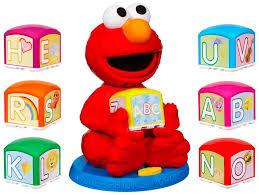 amazon sesame street elmo u0027s u0026 learn alphabet blocks