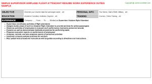 Sample Resume For Flight Attendant by Flight Attendant Sample Resume Valet Parking Resume Sample Resume