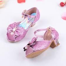 wedding shoes for girl 2016 children princess sandals kids wedding shoes high heels