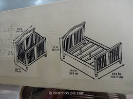 Convertible Crib Parts by Cafe Kid Morgan Convertible 4 In 1 Crib