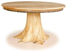 Cedar Table Top by Stump Table Hickory Top And Cedar Tree Stump 36