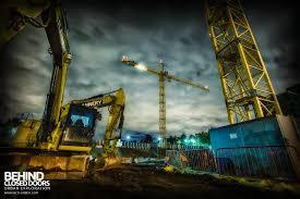 towering high u2013 climbing a tower crane uk urbex behind closed