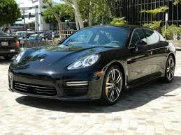 Porsche Panamera Blacked Out - certified pre owned 2014 porsche panamera turbo s