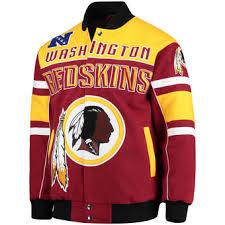 Football Bench Jackets Washington Redskins Jackets Winter Coats Football Jackets