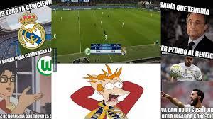 imágenes del real madrid graciosas los graciosos memes de la derrota del real madrid ante wolfsburgo en