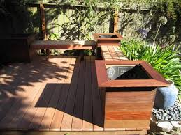 Deck Planters And Benches - decks and stairs u2014 caleb kinser construction