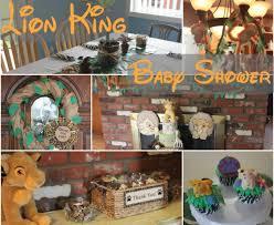Lion King Decorations Disney Lion King Baby Shower Decorations Zone Romande Decoration