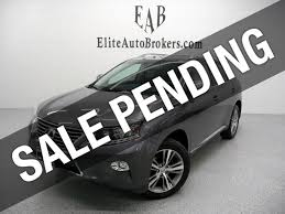 2015 used lexus rx 450h rx450h awd at elite auto brokers serving