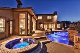 modern santa fe style modern pool austin by burdick custom