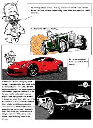 ricer cars tale of the red ricer glitch and his cartoon garage