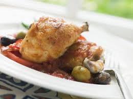 cuisine poulet basquaise poulet basquaise aux pommes de terre recettes de cuisine française
