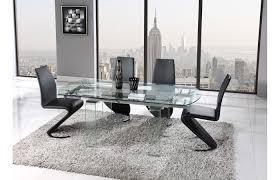 Dining Room Set 7 Piece 7 Piece Black Modern Dining Set Imex Furniture