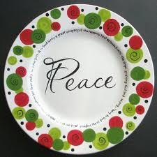 christmas plate best 25 christmas plates ideas on sharpie plates