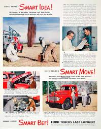 Old Ford Truck Brochures - trucks tagged