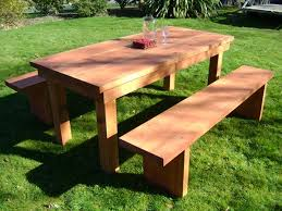 diy outdoor table furniture diy furniture ideas